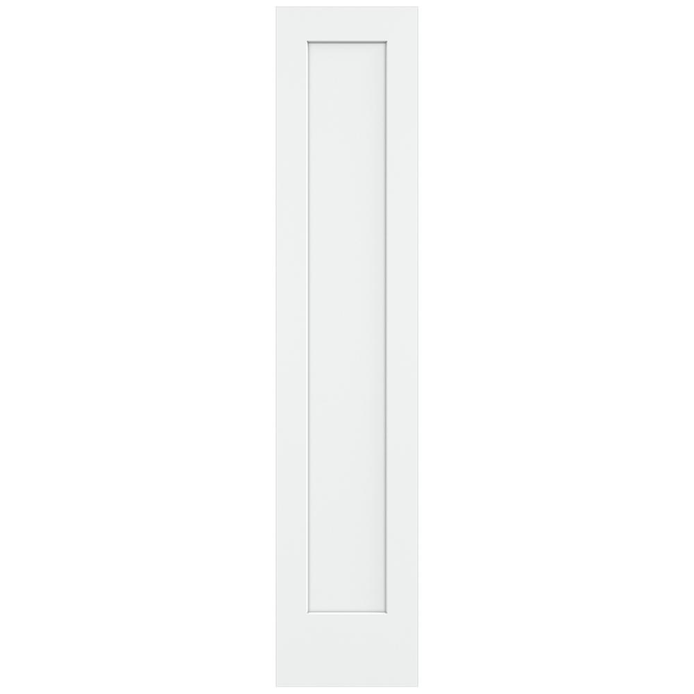 Jeld Wen 18 In X 80 In Craftsman White Painted Smooth Solid Core Molded Composite