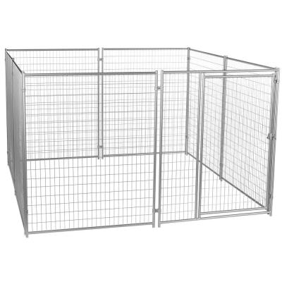 6 ft. H x 10 ft. W x 10 ft. L Modular Welded Wire Kennel Kit