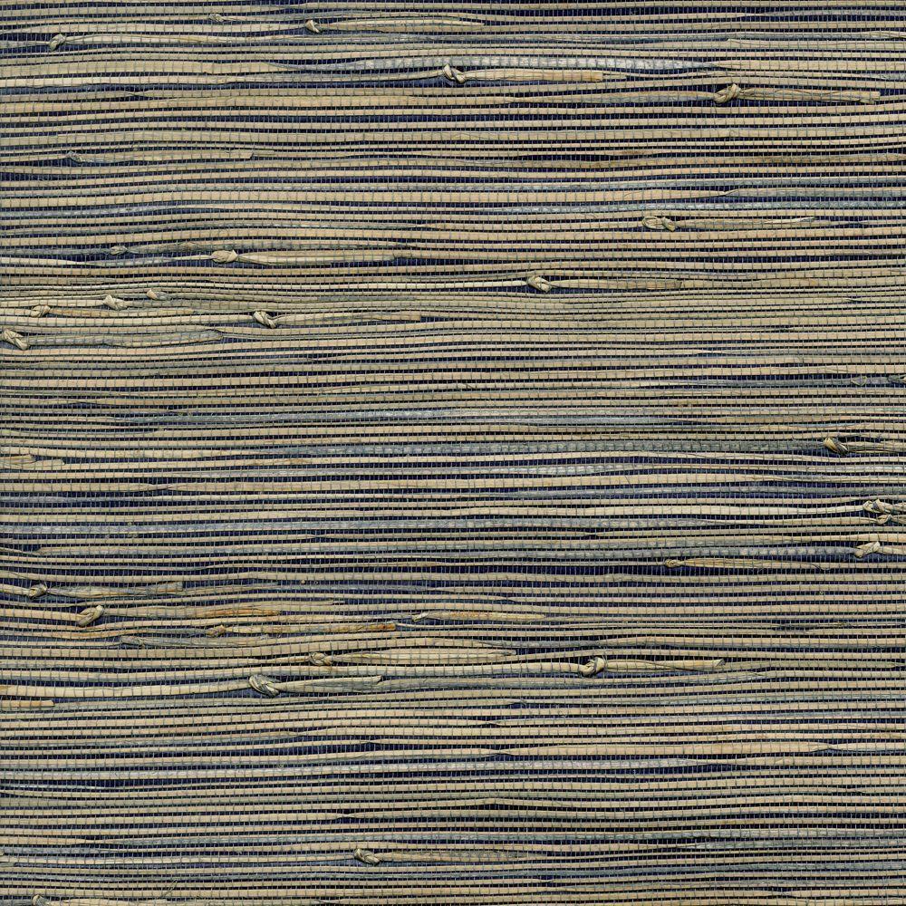The Wallpaper Company 72 sq. ft. Dark Blue Sancho Wallpaper