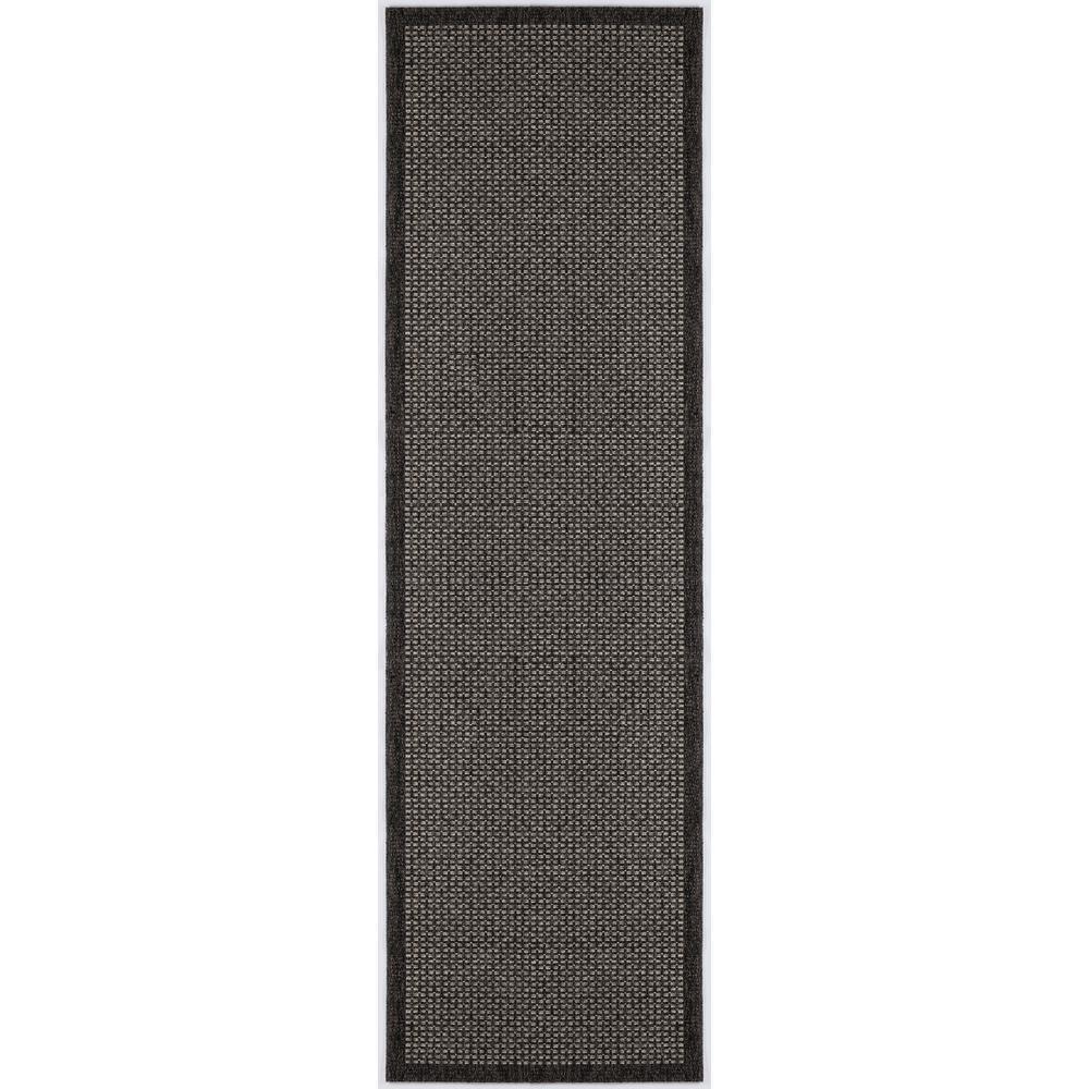 Serenity Black 2 ft. 6 in. x 7 ft. 3 in.