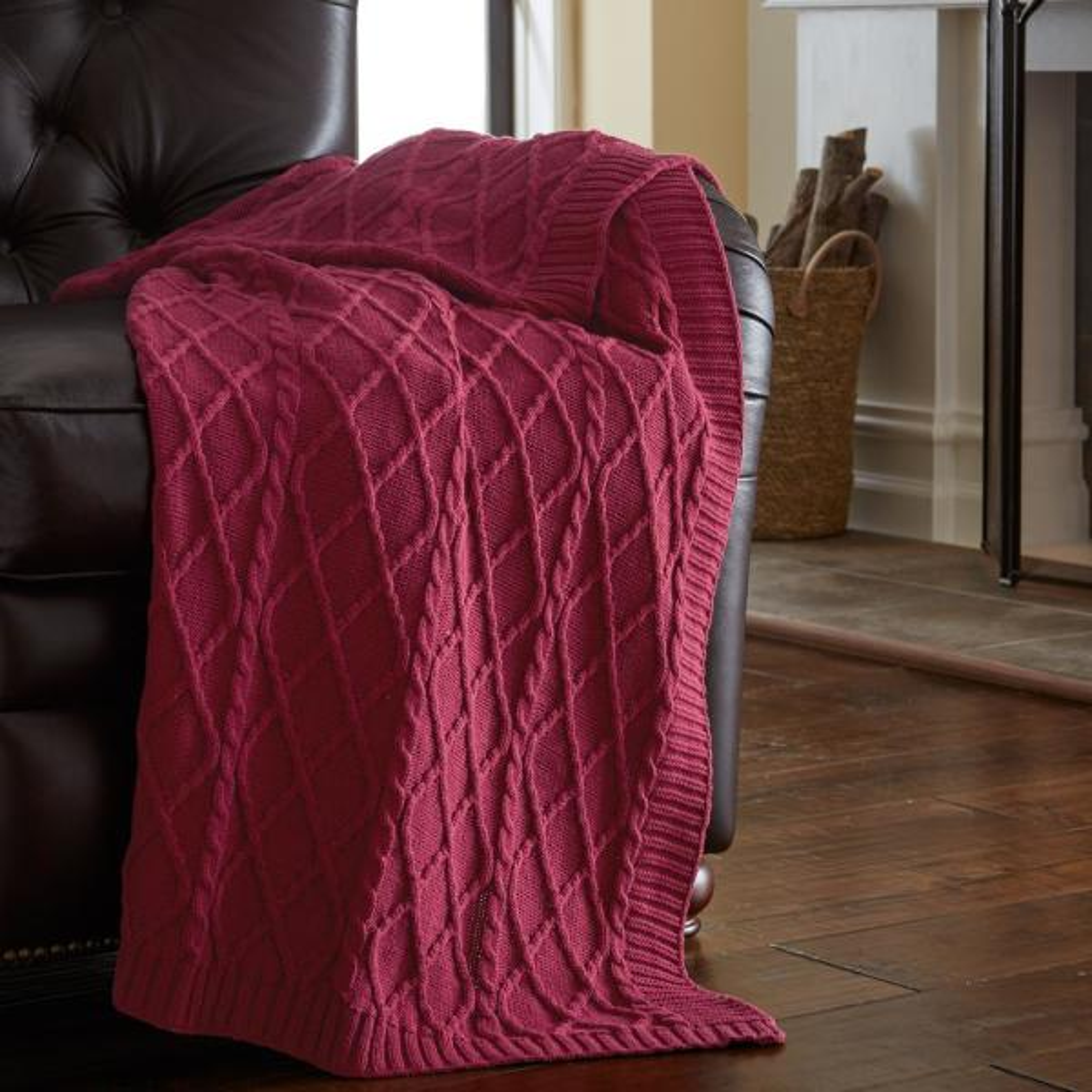 Amrapur Overseas Lavender Throw Blanket (Set of 2) 5CTNTRWM ...