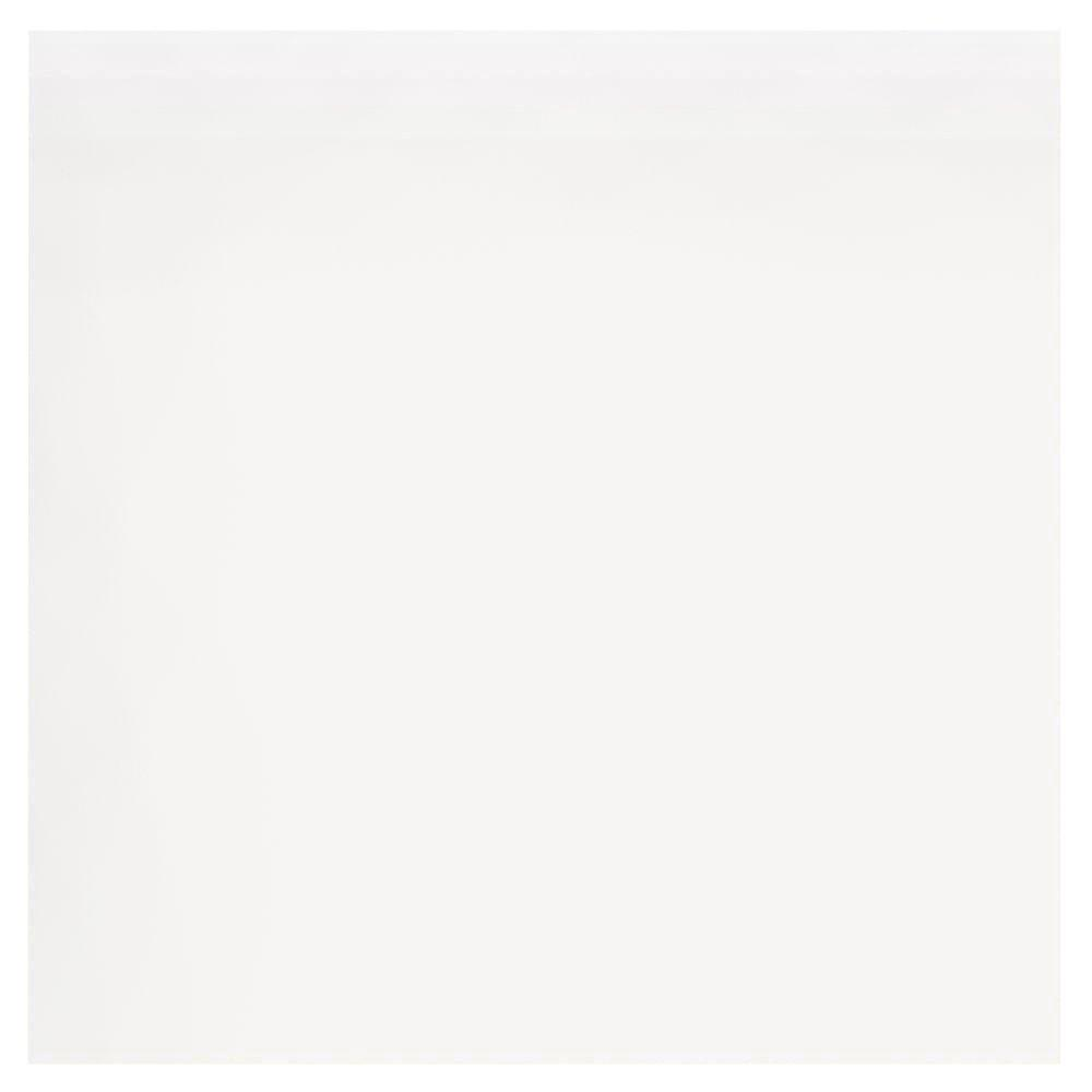 Matte Pearl White 6 in. x 6 in. Ceramic Surface Bullnose