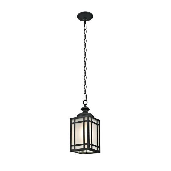 Mission Style Outdoor Pendant Light