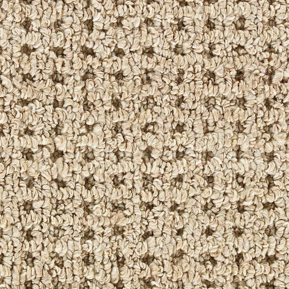 Martha Stewart Living Hillwood Hickory - 6 in. x 9 in. Take Home Carpet Sample