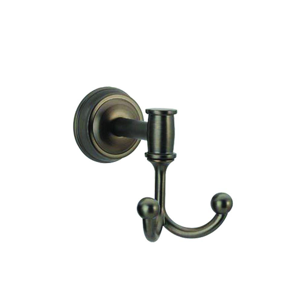 Pegasus Ideal Double Robe Hook in Oil-Rubbed Bronze-BVY41100RBP ...