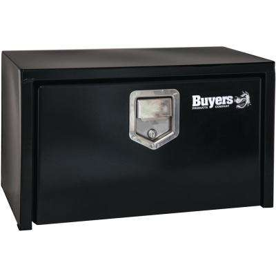 Black Steel Underbody Truck Box with Paddle Latch, 18 in. x 18 in. x 36 in.