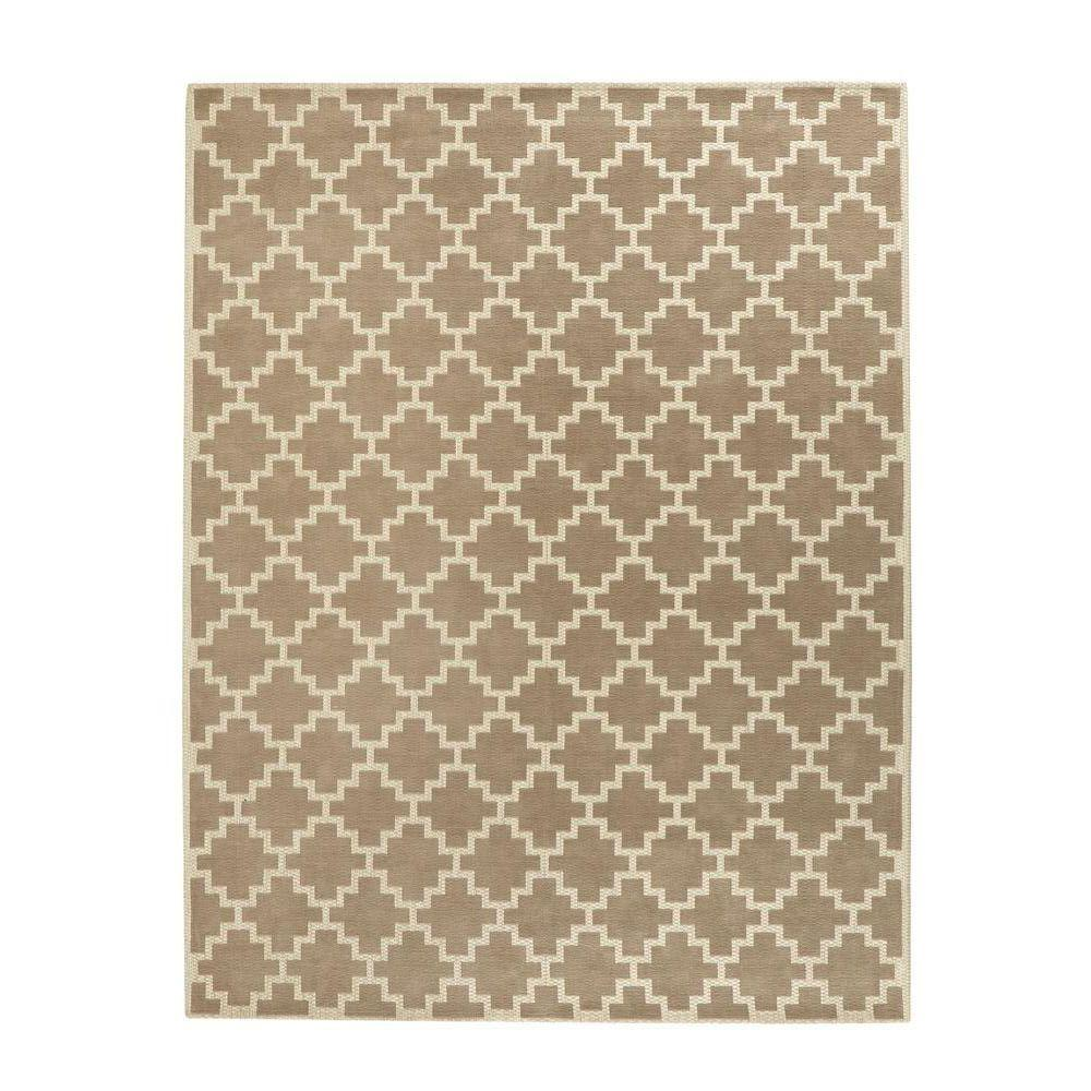 Home Decorators Collection Halifax Taupe Ivory 9 Ft X 12 Indoor Area