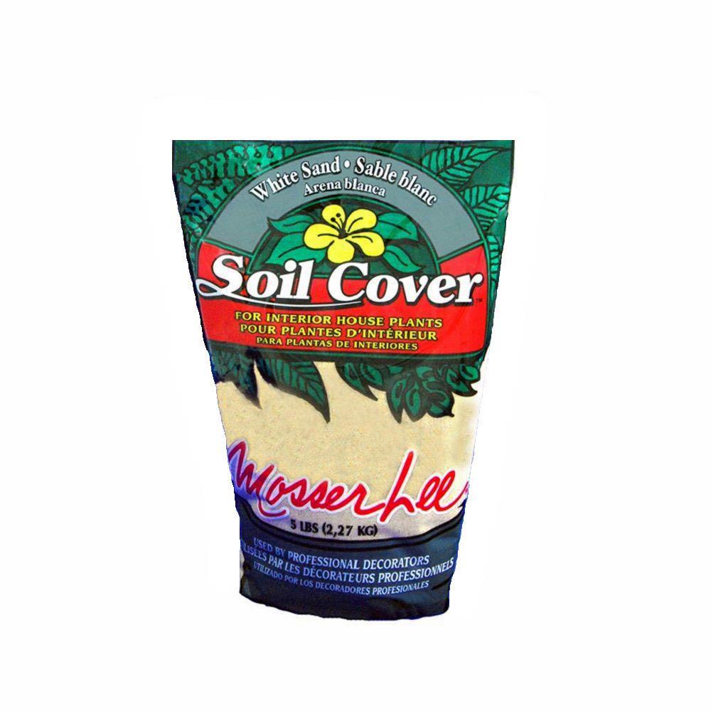 5 lb. White Sand Soil Cover