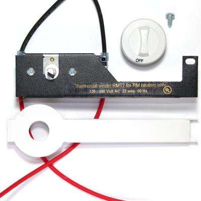 Register Series RM White Integral 22 Amp Thermostat Kit