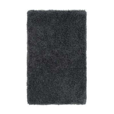 Claudia Charcoal 2 ft. x 4 ft. Indoor Area Rug