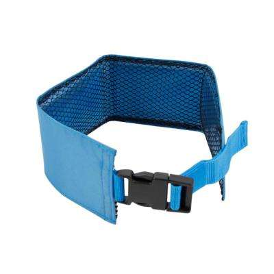 Blue Summer-Cooling Insert Able and Adjustable Cooling Ice Pack Dog Neck Wrap