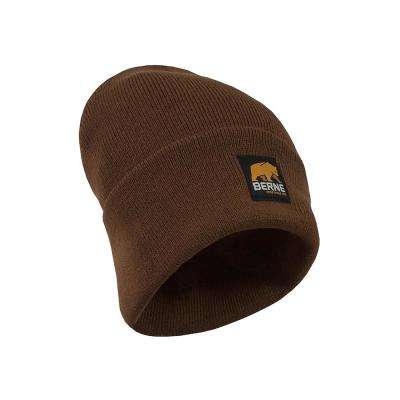 Men's Brown Duck Standard Knit Cap