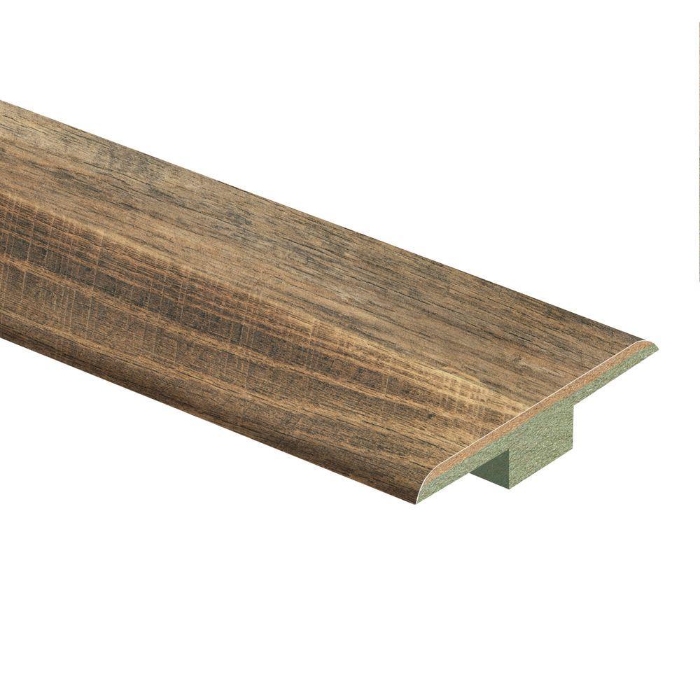 Zamma Ann Arbor Oak 7 16 In Thick X 1 3 4 In Wide X 72 In Length Laminate T Molding 013221762