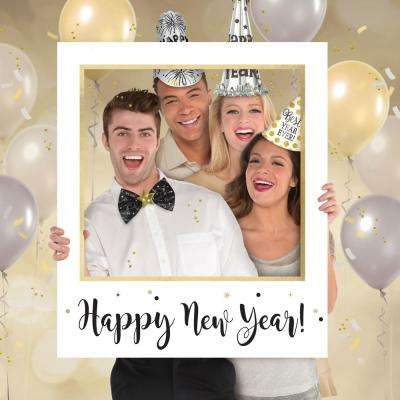 35 in. New Year's Giant Photo Frame (2-Pack)