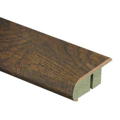 Tanned Hickory 3/4 in. Thick x 2-1/8 in. Wide x 94 in. Length Laminate Stair Nose Molding