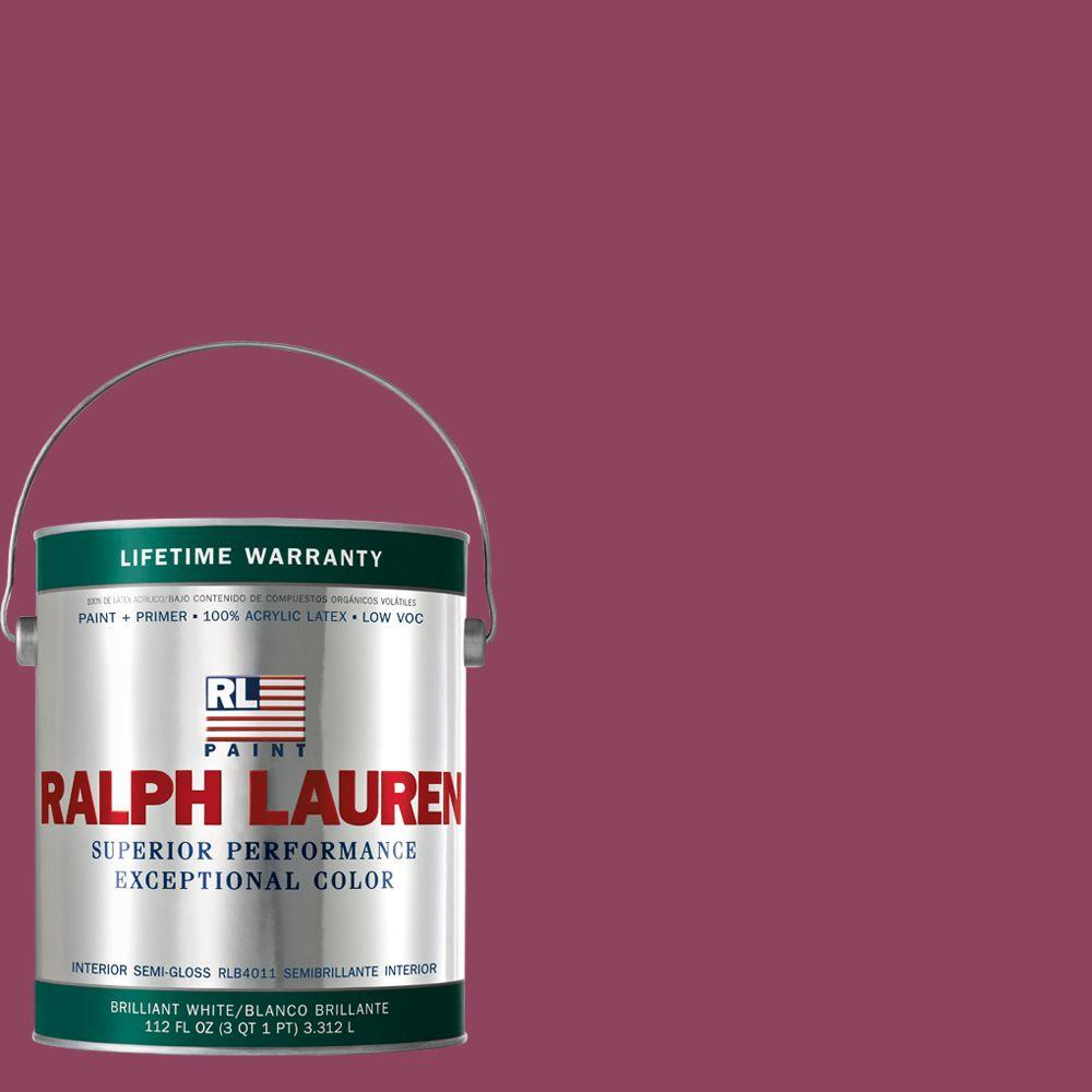 Ralph Lauren 1-gal. Roaring Pink Semi-Gloss Interior Paint