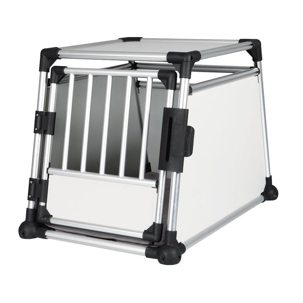 24.75 in. L x 35.25 in. W x 25.5 in. H Large Metallic Crate