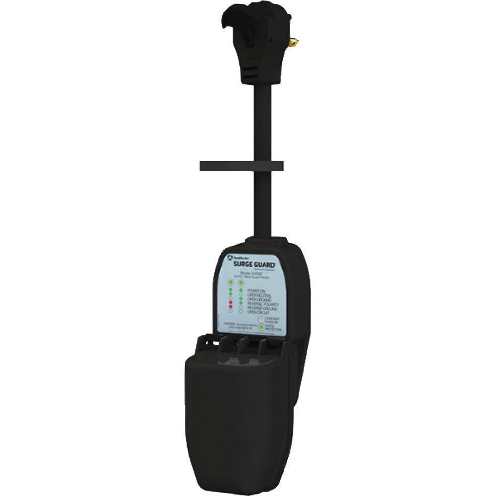 30 Amp Portable Surge Guard with Enhanced Diagnostics