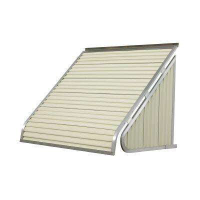 6 ft. 3500 Series Aluminum Window Awning (28 in. H x 24 in. D) in Almond
