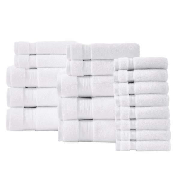 Home Decorators Collection Egyptian Cotton 18-Piece Towel Set