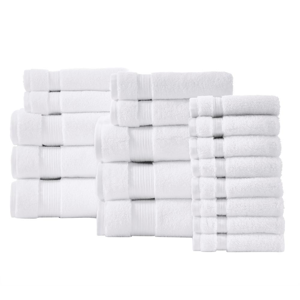 Home Decorators Collection Egyptian Cotton 18-Piece Towel Set