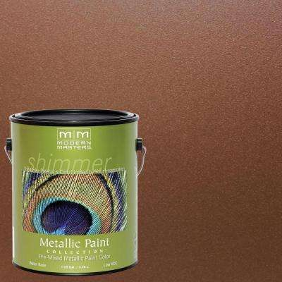 1 gal. Antique Bronze Metallic Interior/Exterior Paint