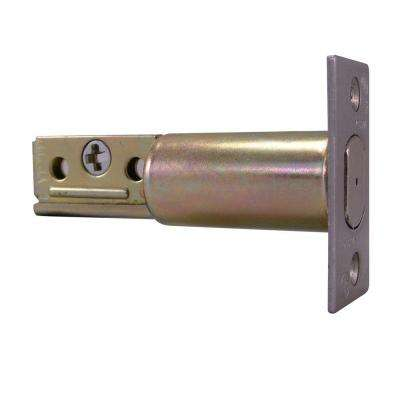 Residential 2-3/8 in. x 1 in. Face Deadbolt Latch with 1 in. Deadbolt Strike