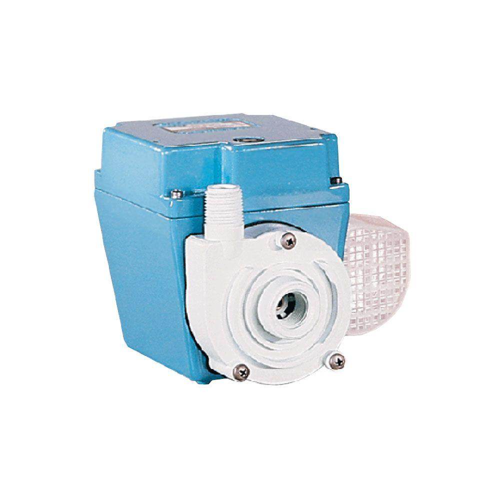 3E-34N 1/15 HP In-Line or Submersible Recirculating Pump