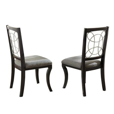 Cayman Black Side Chair (Set of 2)