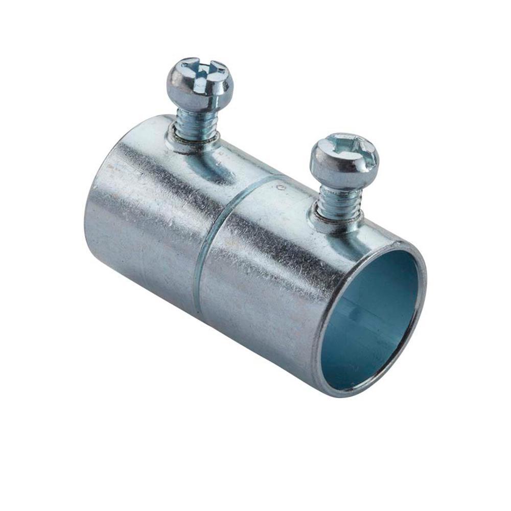 Halex 1 in. Electric Metallic Tube (EMT) Set-Screw Coupling