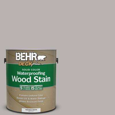 1 gal. #790E-3 Porpoise Solid Color Waterproofing Exterior Wood Stain