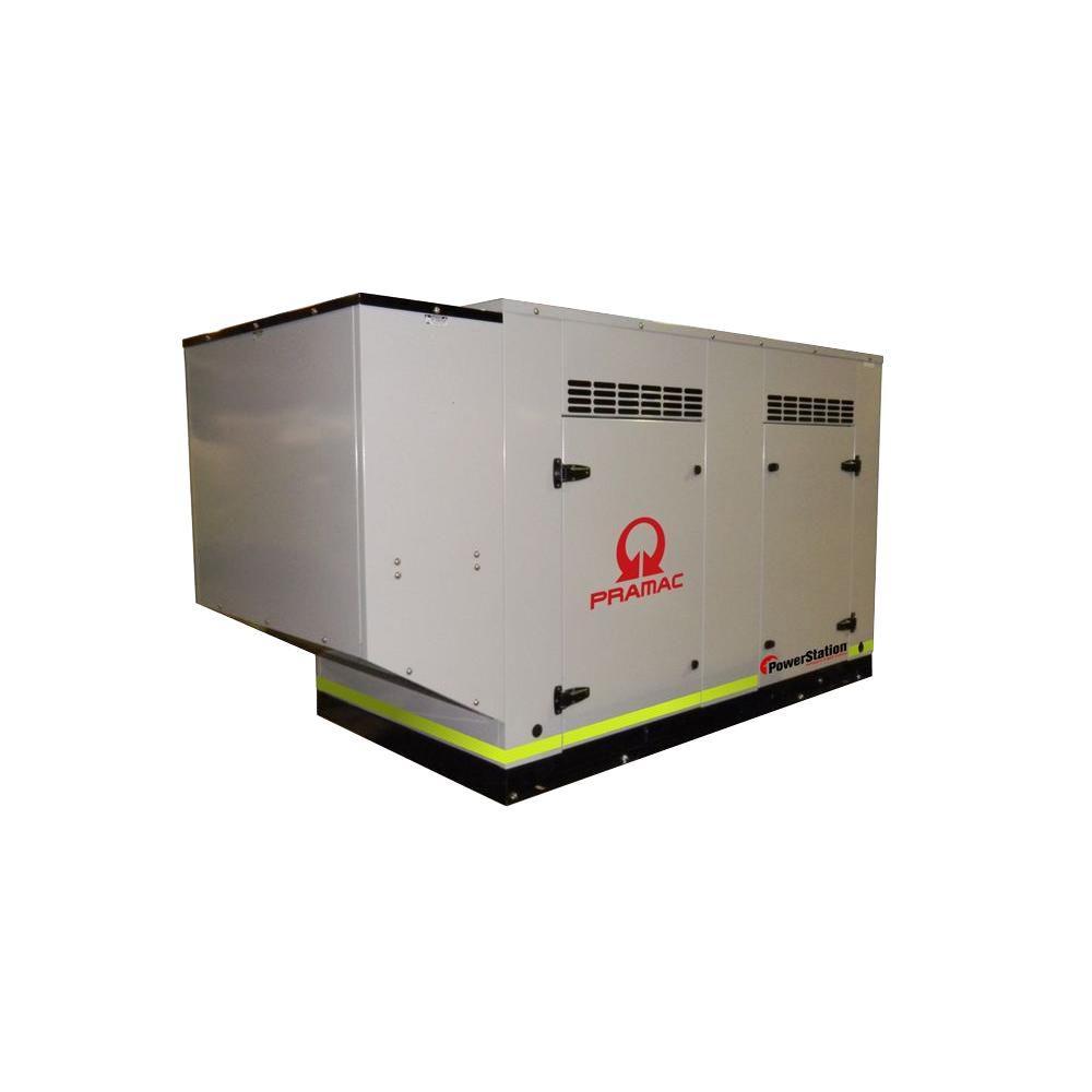 null 60,000-Watt 93.2-Amp Liquid Cooled Genset Standby Generator