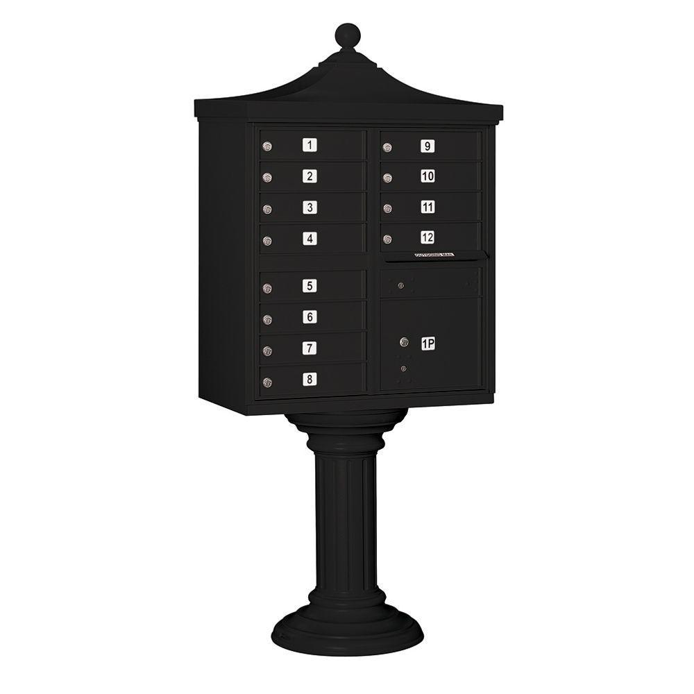 3300R Series Black Private 12 A Size Doors Type II Regency
