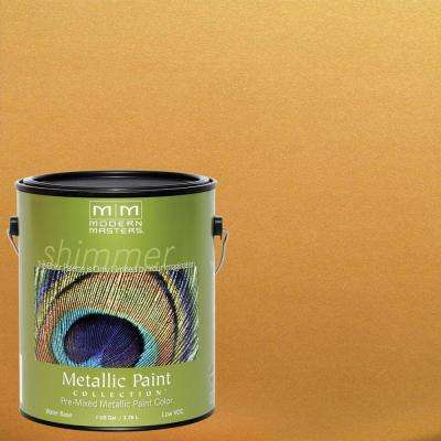 1 gal. Olympic Gold Satin Metallic Interior/Exterior Paint