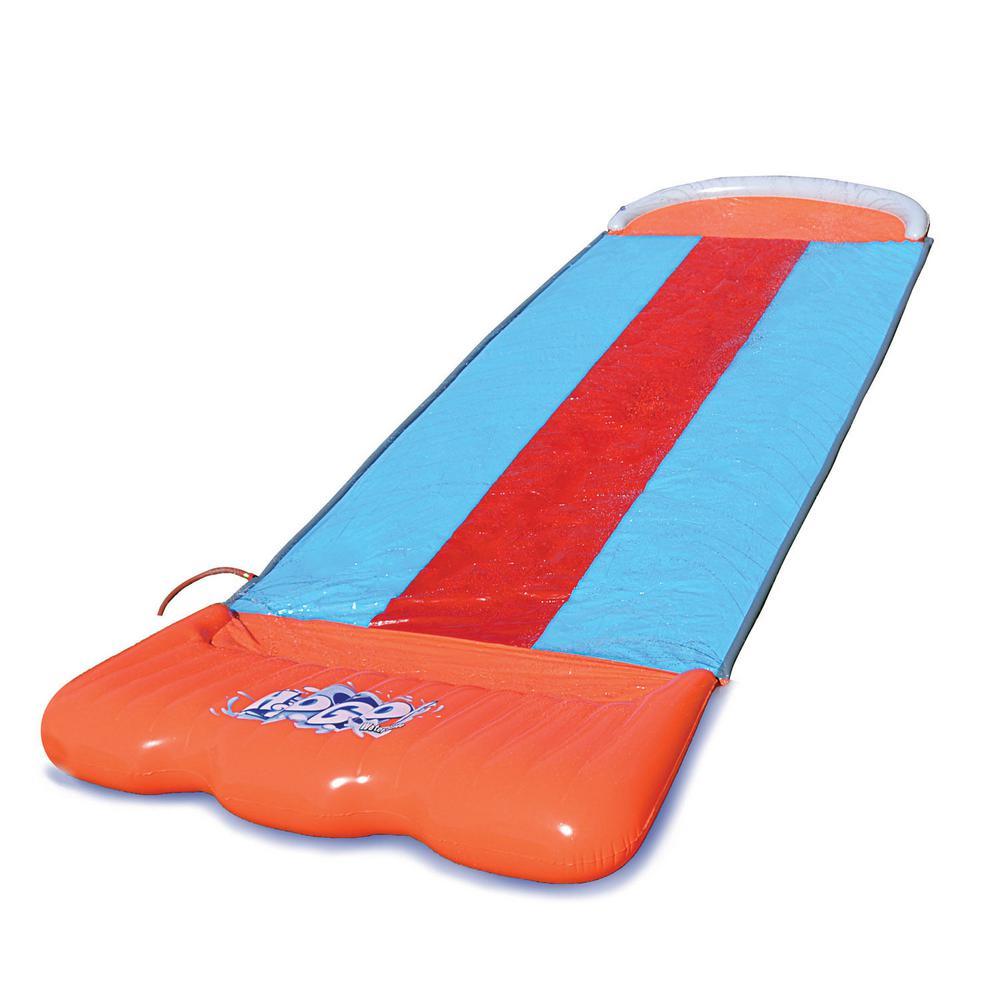 Triple Water Slide for Backyard Fun