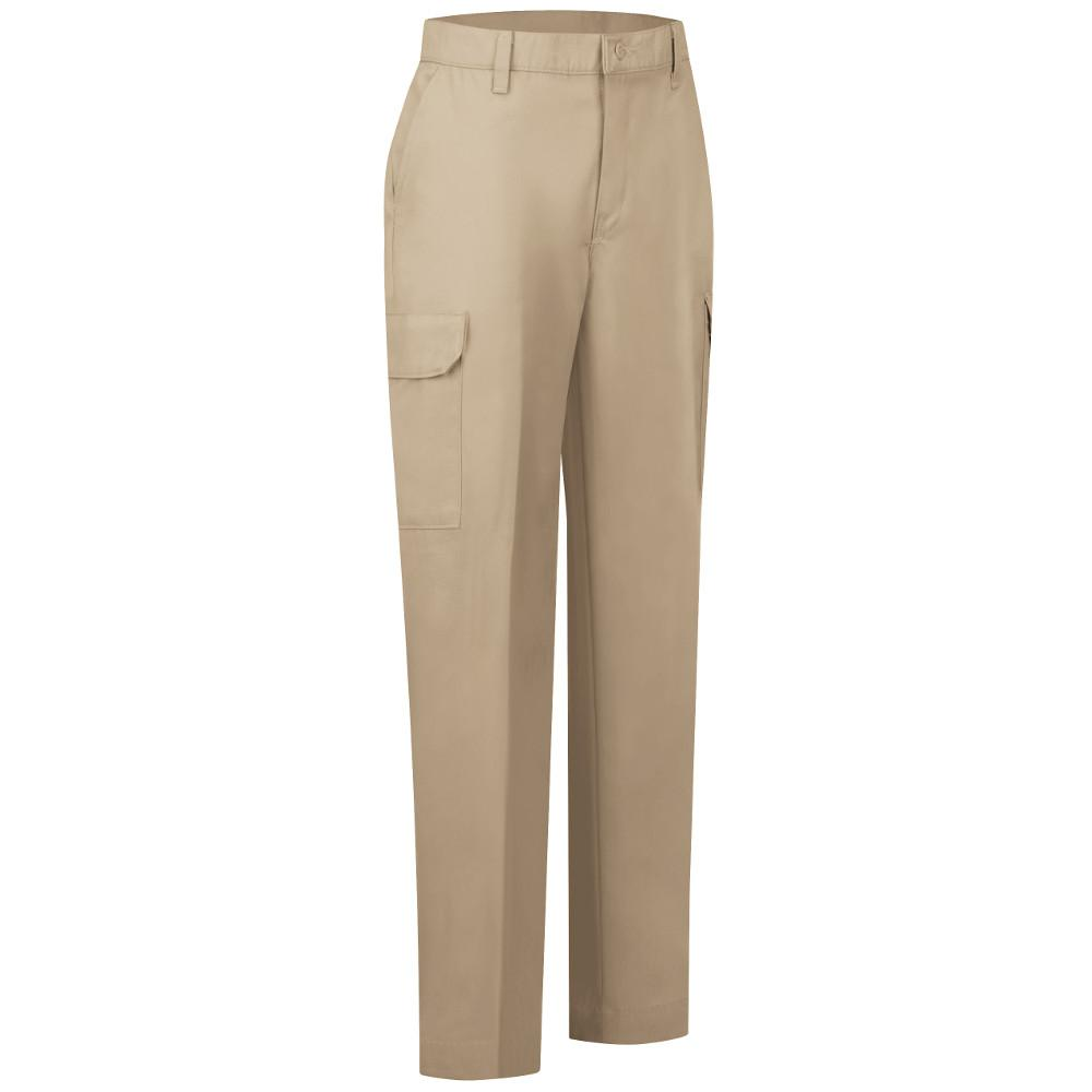 100% quality good looking 100% satisfaction Red Kap Women's Size 14 in. x 32 in. Khaki Industrial Cargo Pant