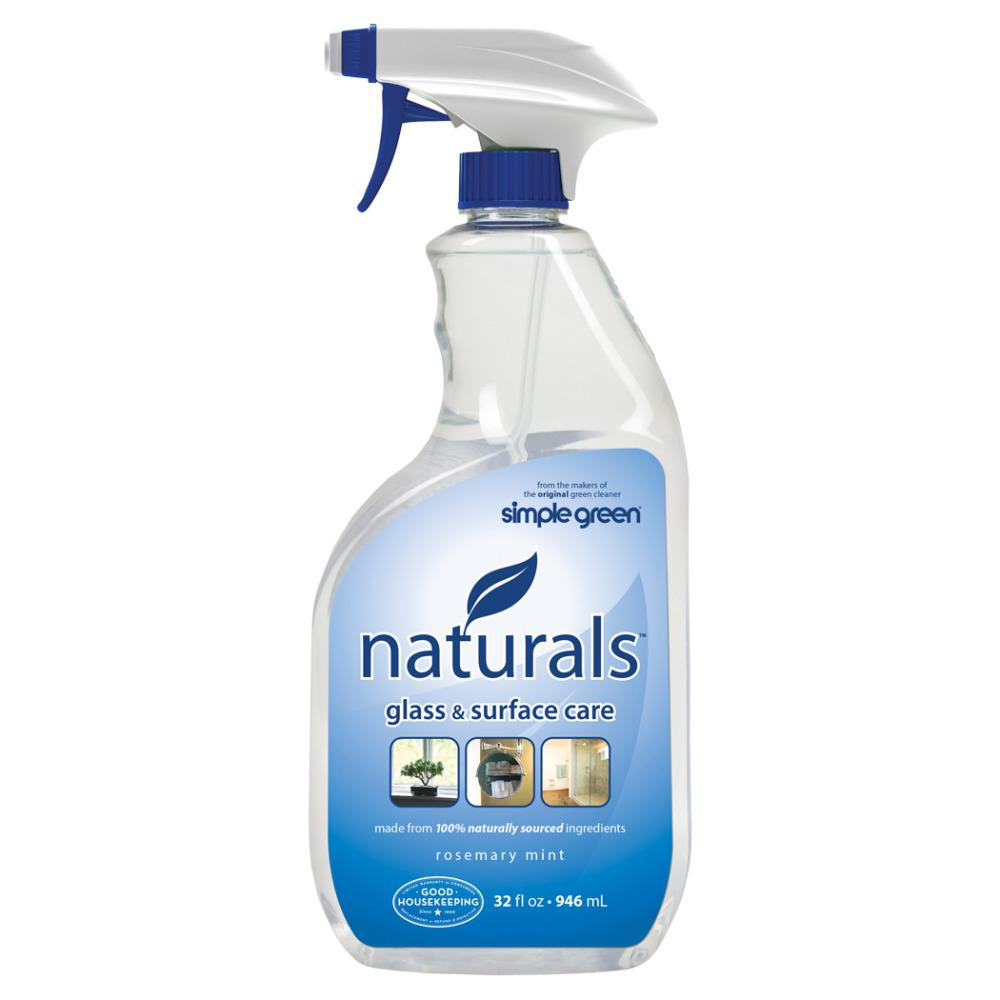 simple green 32 oz naturals glass and surface care