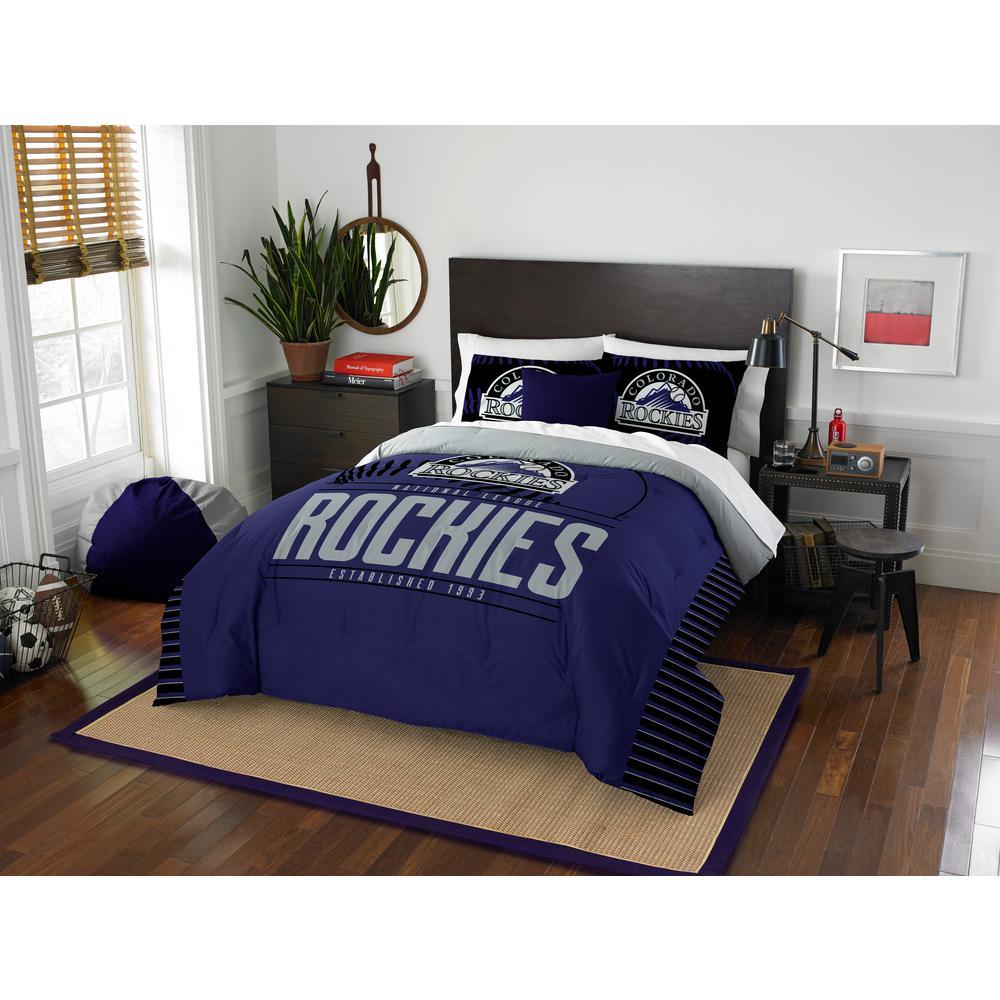 Rockies 3-Piece Multicolored Full Comforter Set