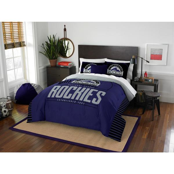 Rockies 3-Piece Multicolored Full Comforter Set