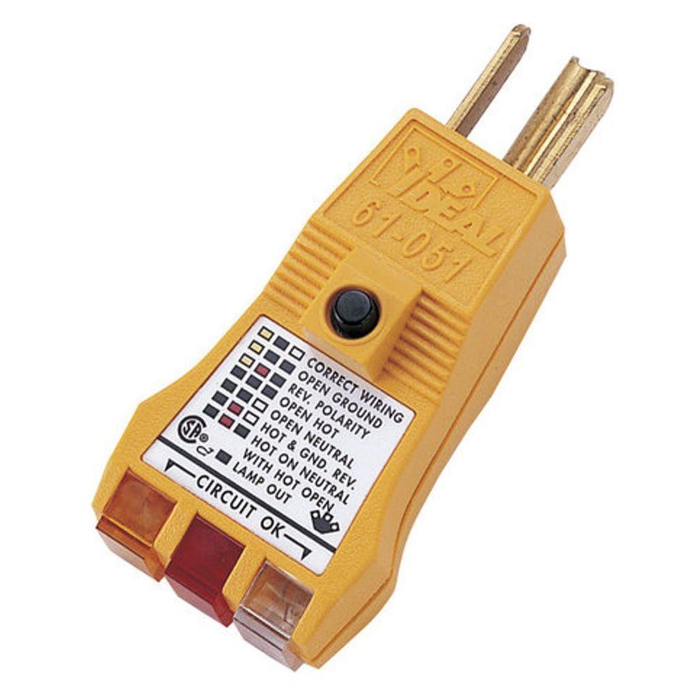 E-Z Check Plus GFCI Circuit Tester