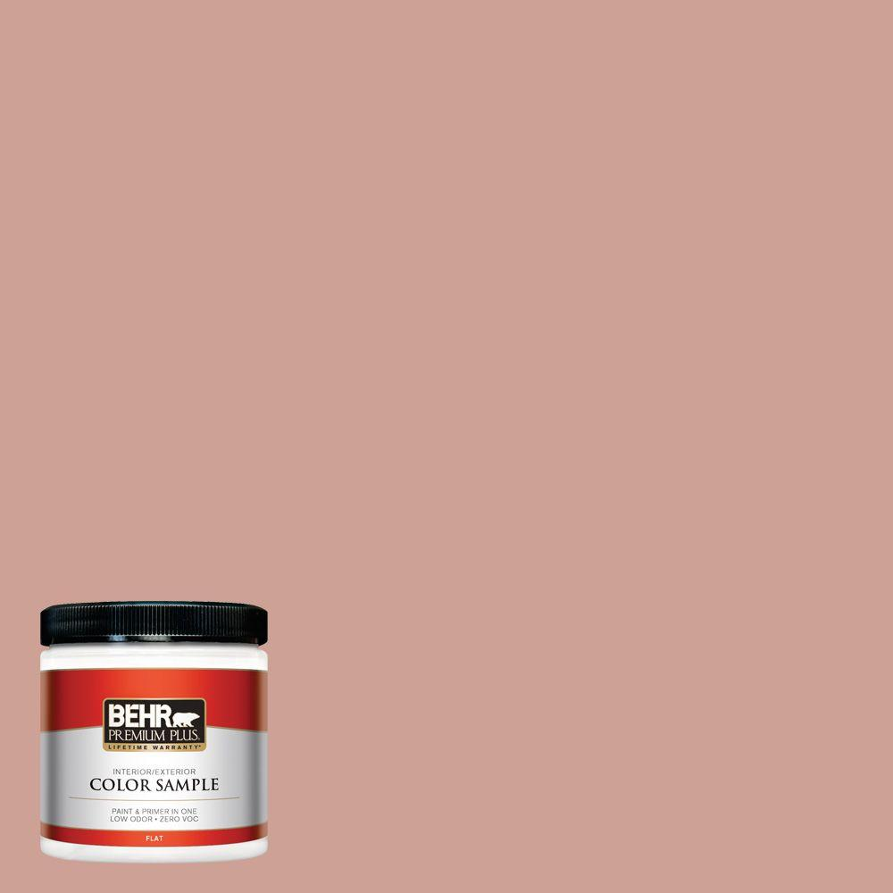 BEHR Premium Plus 8 oz. #220F-4 Sombrero Tan Interior/Exterior Paint Sample