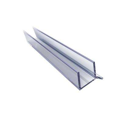72 in. L Clear Vinyl Seal for 3/8 in. Glass Shower Door
