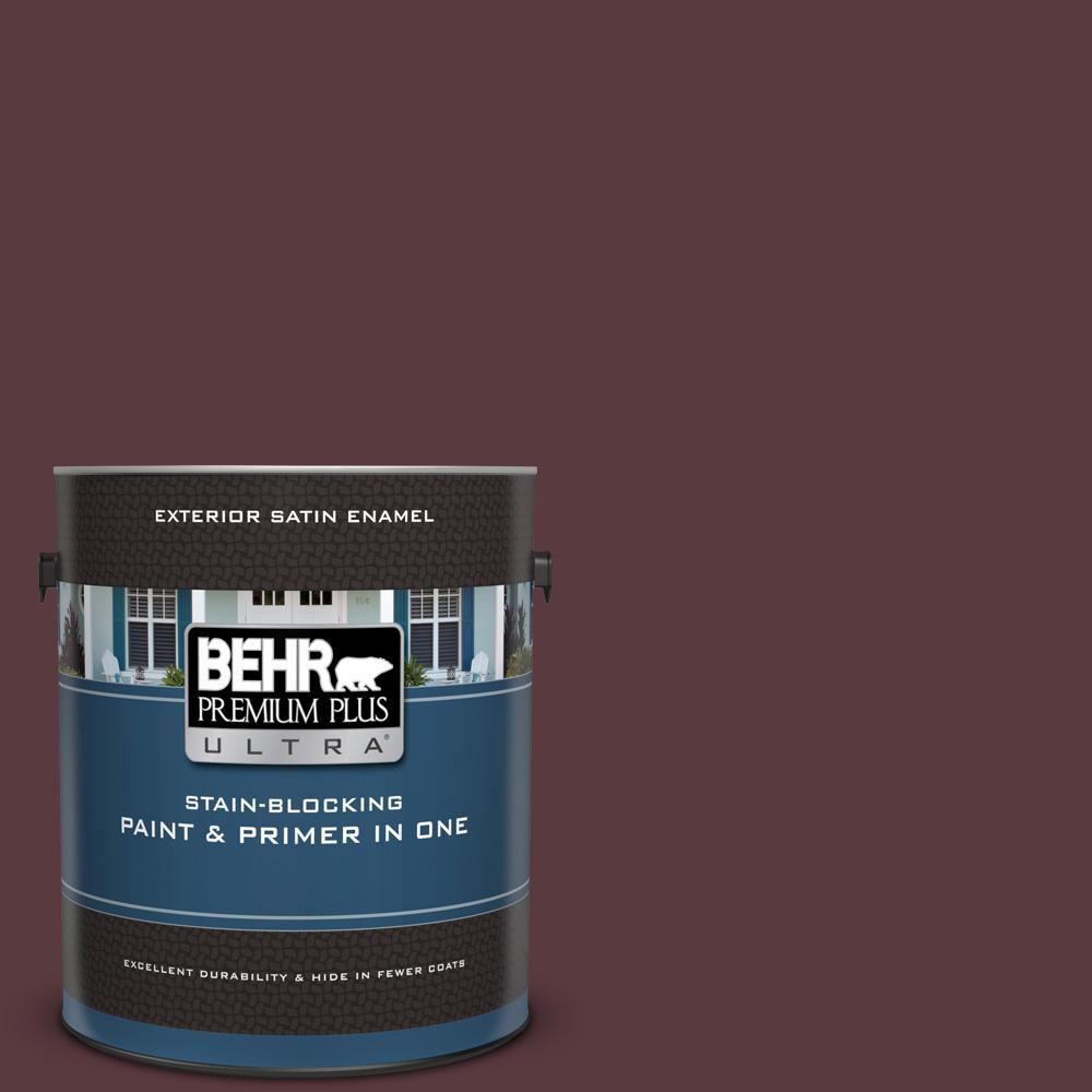 Behr premium plus ultra 1 gal mq1 49 raspberry truffle - What is satin paint ...