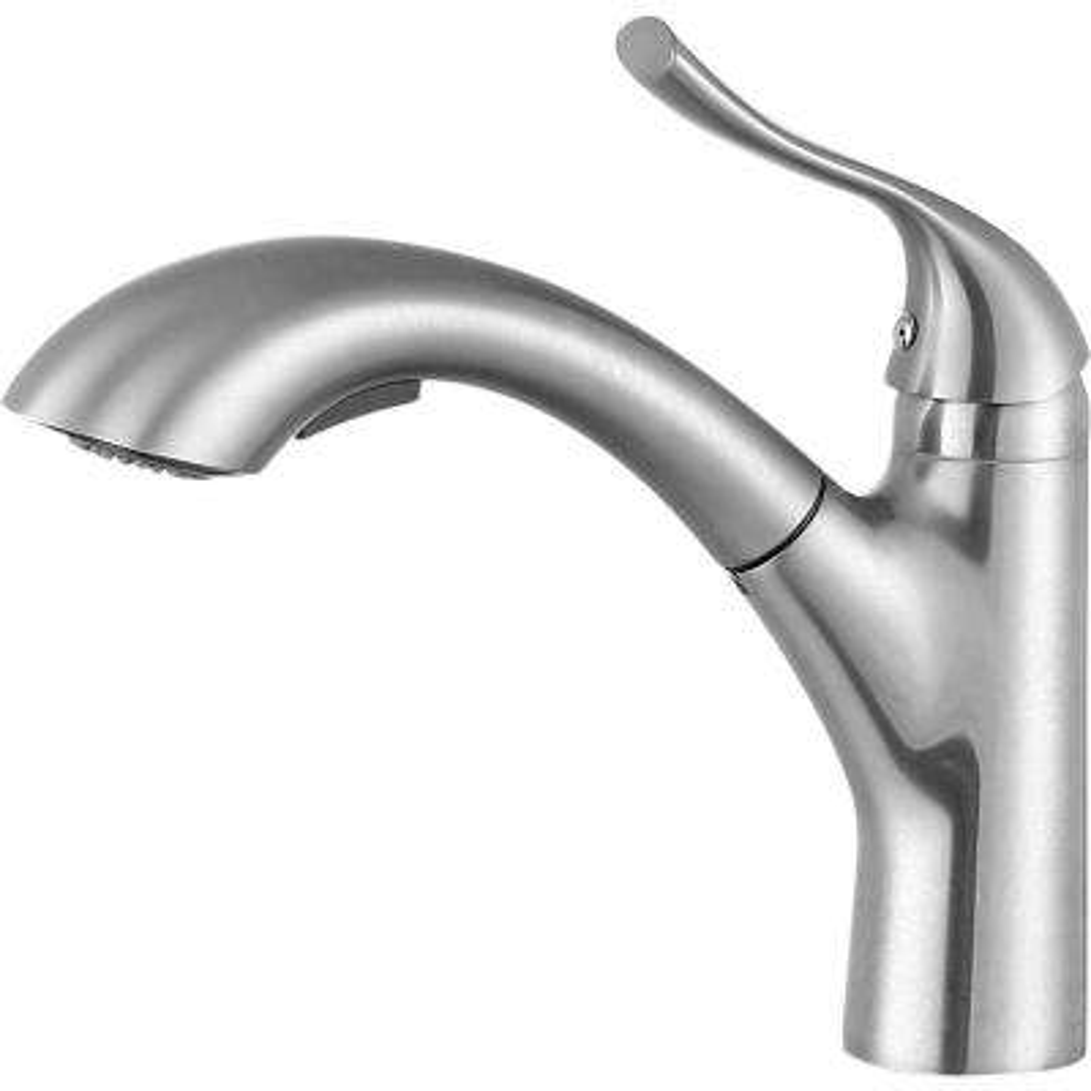 Navona Single Handle Standard Kitchen Faucet in Brushed Nickel