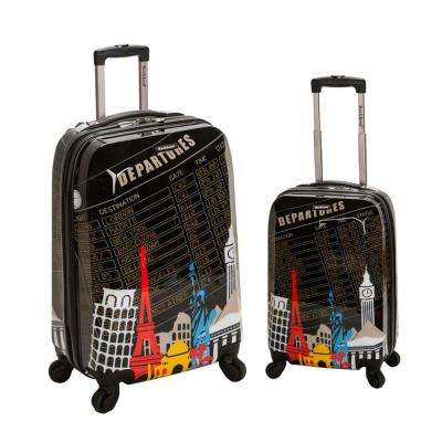 Rockland Traveler 2-Piece Hardside Luggage Set, Departure