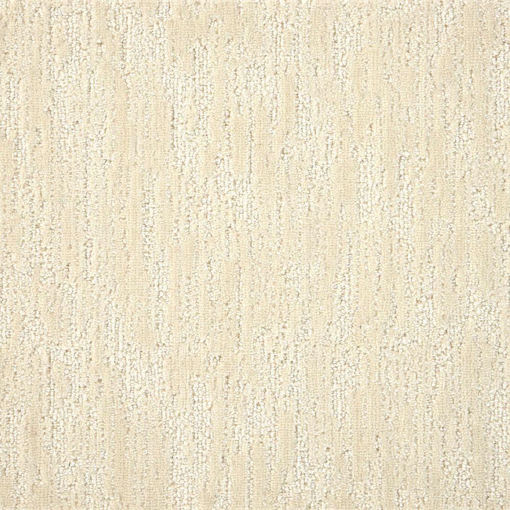 Borderline - Color Ivory Pattern 12 ft. Carpet