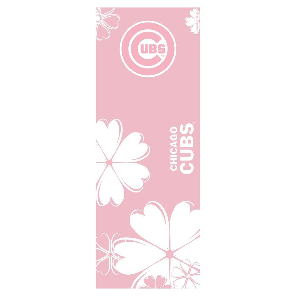 FANMATS Chicago Cubs 24 in. x 67.5 in. Yoga Mat-DISCONTINUED