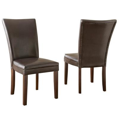 Hartford Brown Parsons Chair (Set of 2)