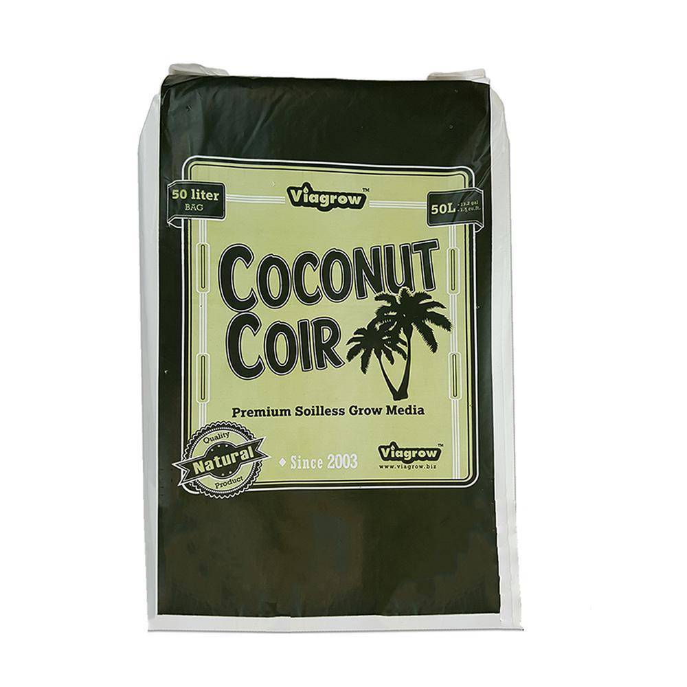 1.5 cu. ft. Coco Coir Fluffed Coconut Pith Fiber Soilless Grow Media Bag