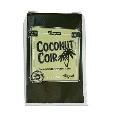 1.5 cu. ft. Coco Coir Fluffed Coconut Pith Fiber Soilless Grow Media Bag